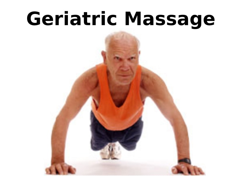 Geriatric Massage